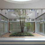 兵庫県西脇市の大山病院の院内写真:吹き抜け